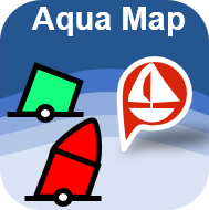 Aqua Map Marine & Lakes icon