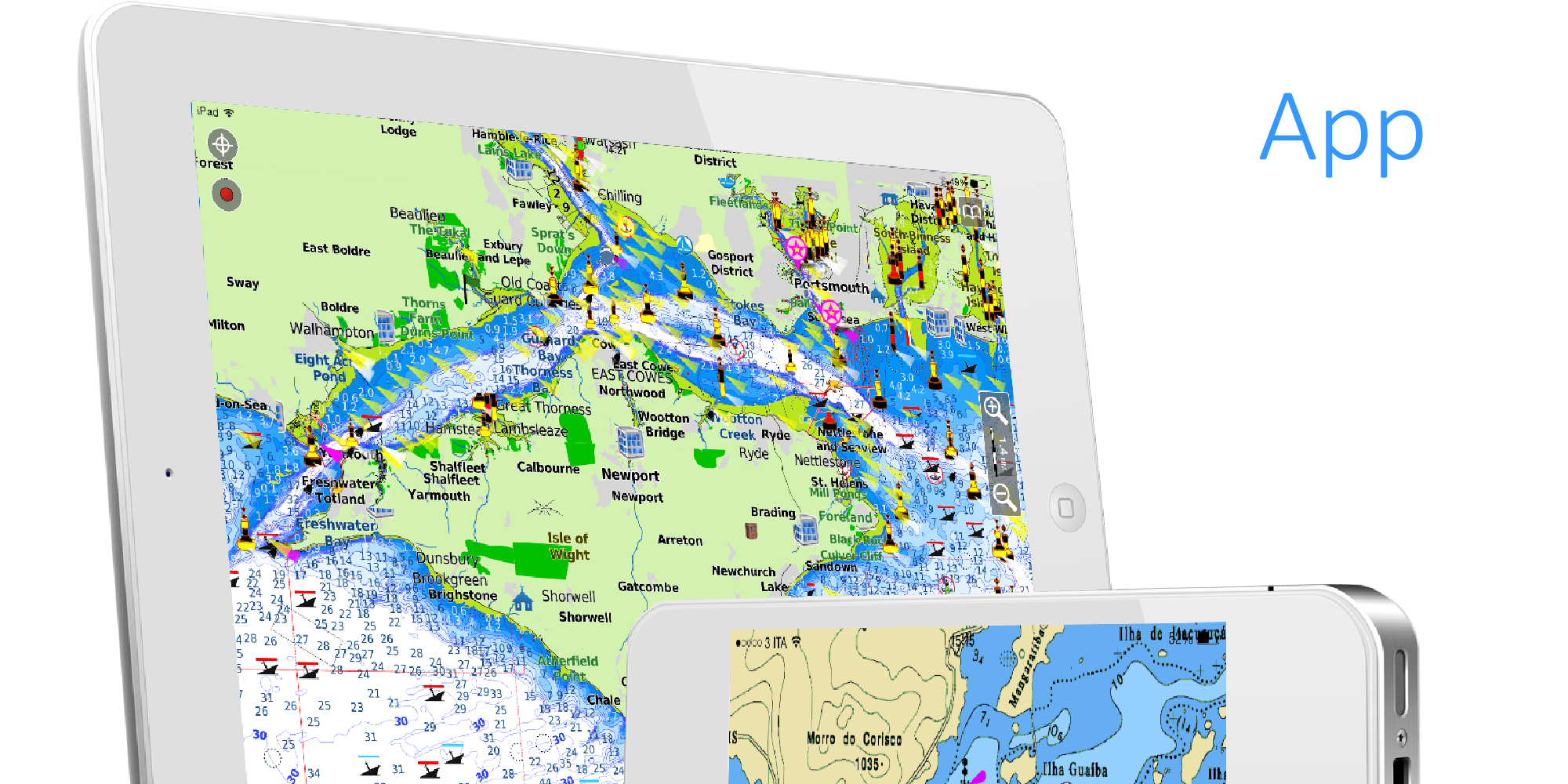 Aqua Map Ios Marine Navigation Gps Boating Charts