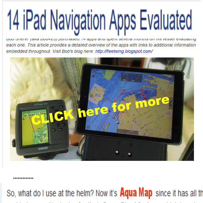 Aqua Map - GPS Boating Lake Maps Gps Lake Maps on